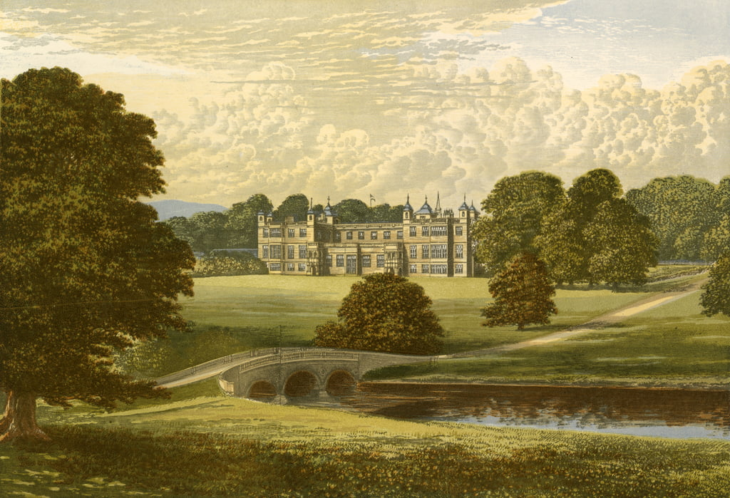 Audley End von Alexander Francis Lydon