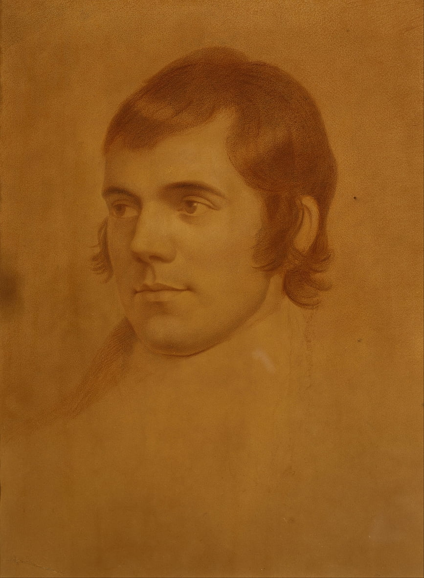 Robert Burns 1759 von Archibald Skirving