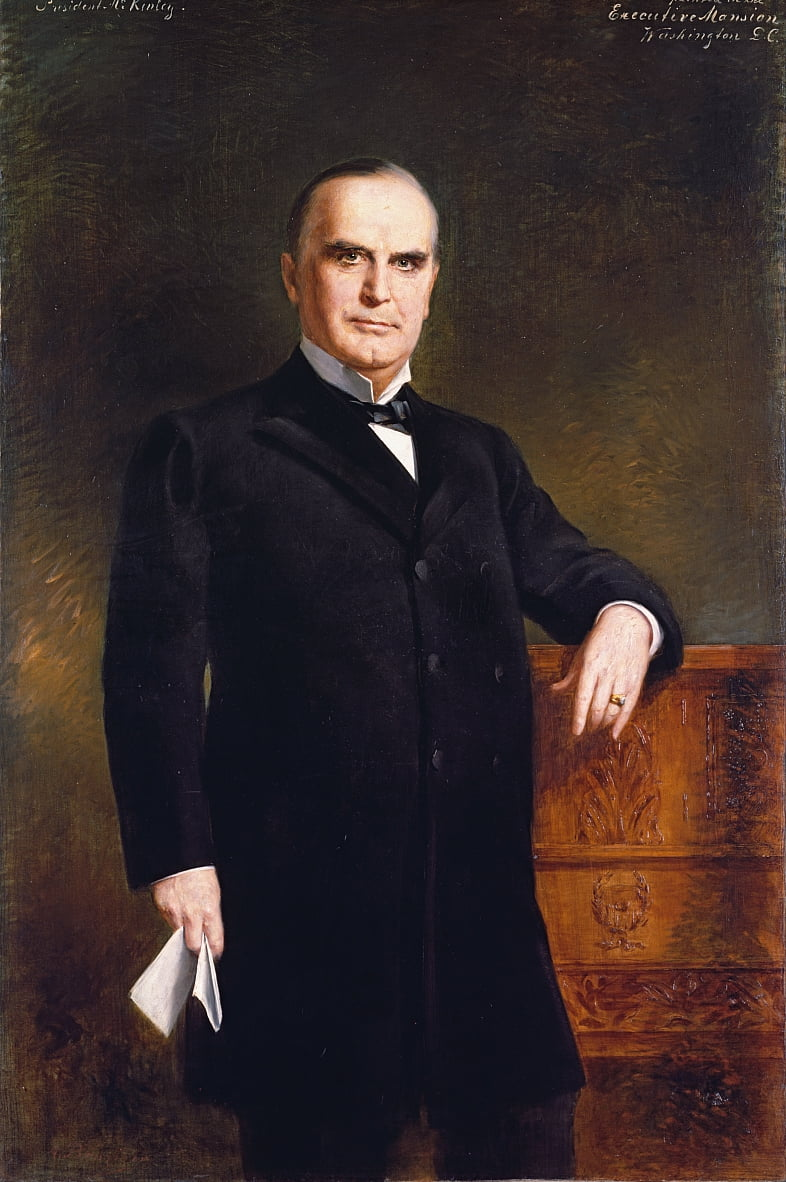 William McKinley von August Benziger