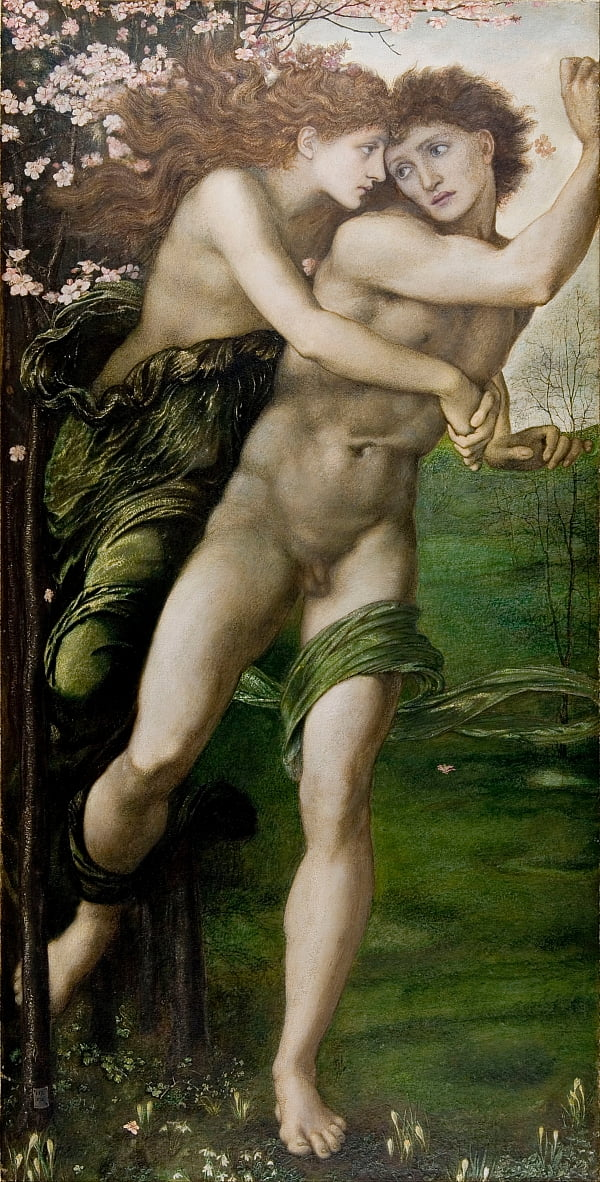 Phyllis und Demophoon von Edward Burne Jones