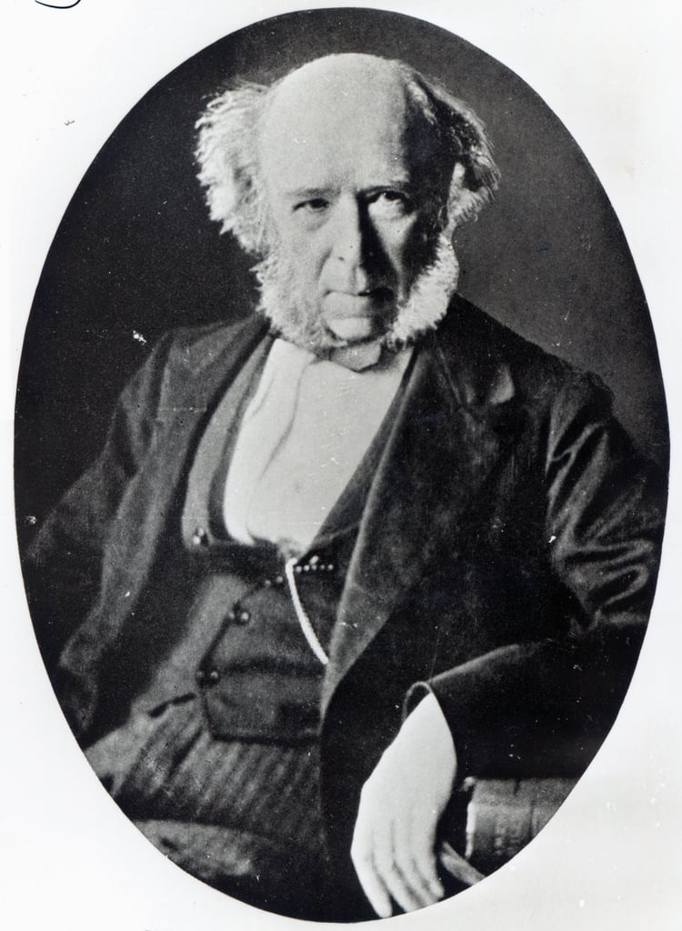 Herbert Spencer (1820-1903)  von English Photographer
