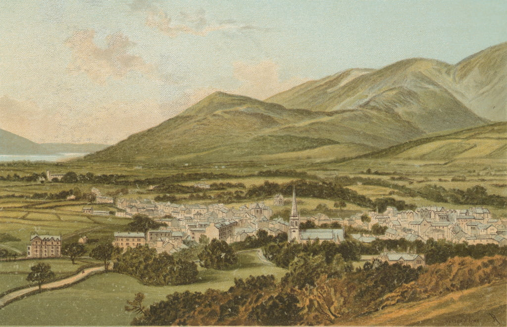 Keswick von Castle Hill von English School
