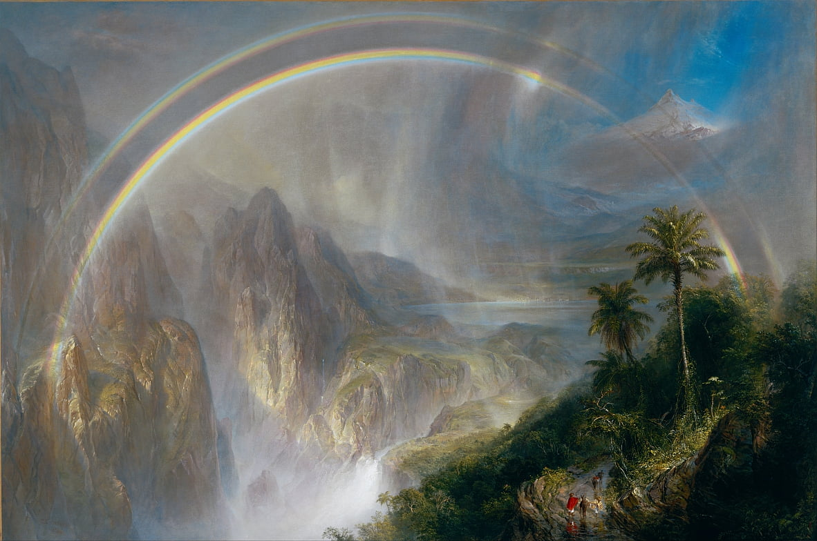 Regenzeit in den Tropen von Frederic Edwin Church