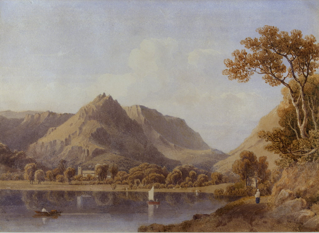 Grasmere Lake, 1830 von George Fennel Robson