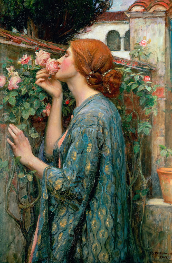 Die Seele der Rose, 1908 von John William Waterhouse