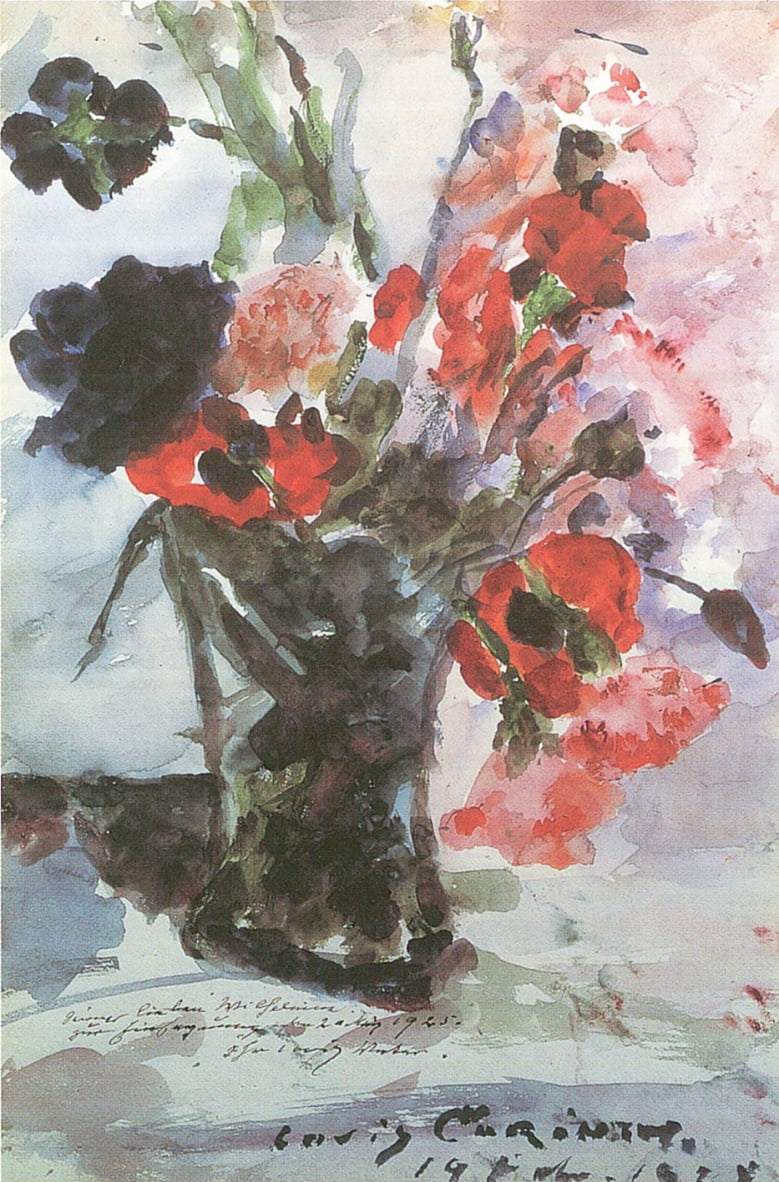 Konfirmationsblumenn von Lovis Corinth