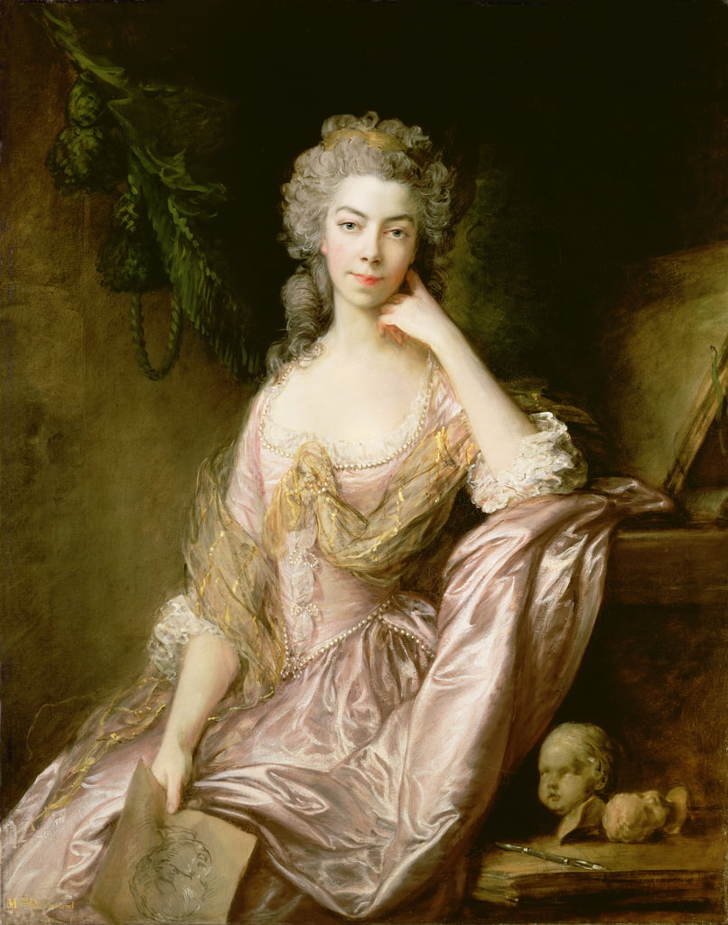 Fräulein Drummond von Thomas Gainsborough