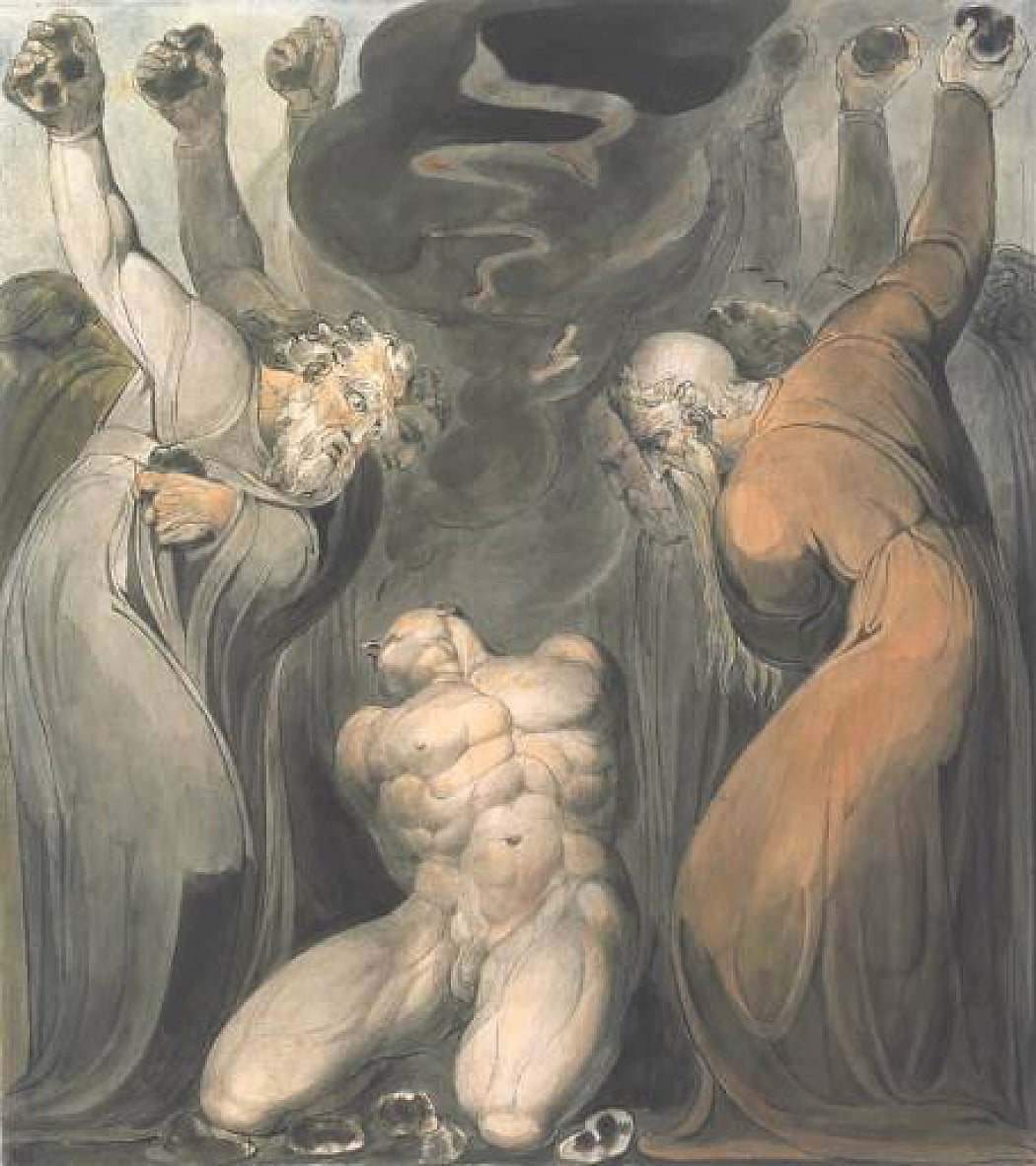 Der Blasphemer von William Blake