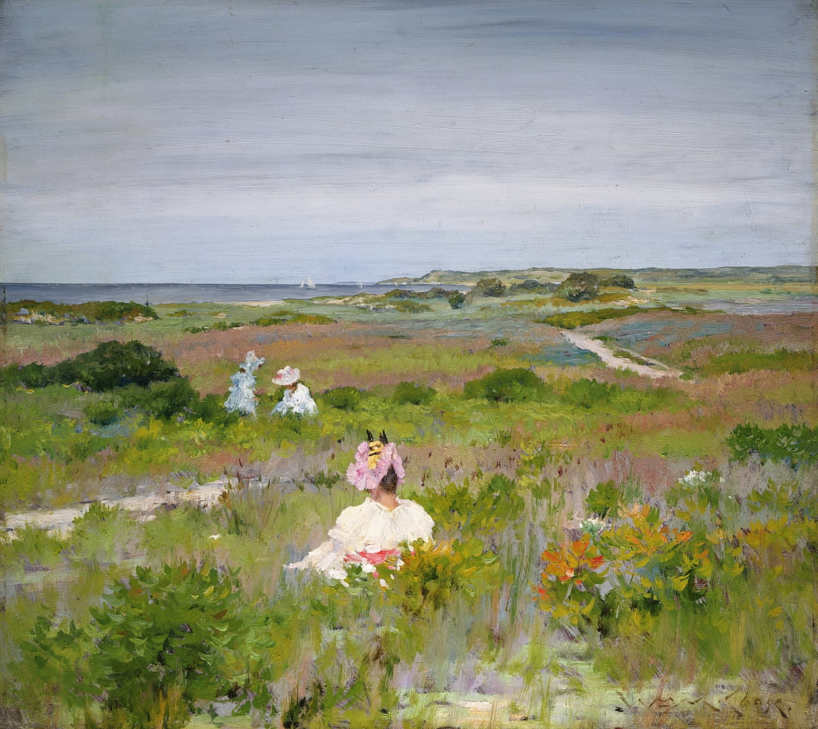 Landschafts Shinnecock, Long Island von William Merritt Chase