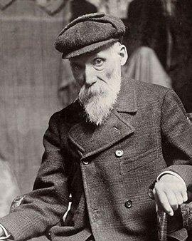 Portrait von Pierre Auguste Renoir